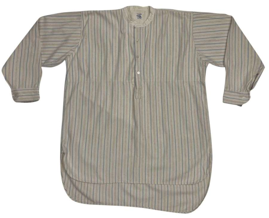 Original 1930s Striped Flannel Stripe by 'Medico' - Size 15