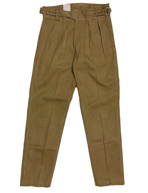 Original 1950 Pattern Khaki Drill Trousers