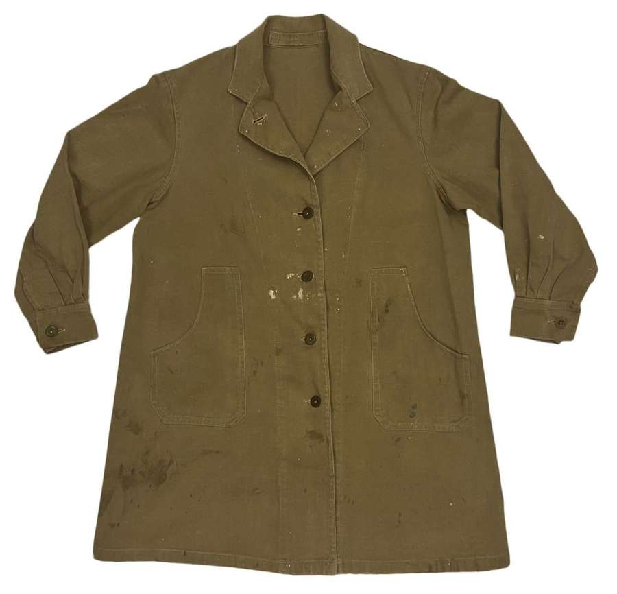 Original 1943 Dated Women's Land Army Overalls, Coats, Drill