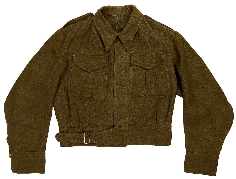 Scarce Original 1940 Dated Battledress Serge Blouse - Size 12