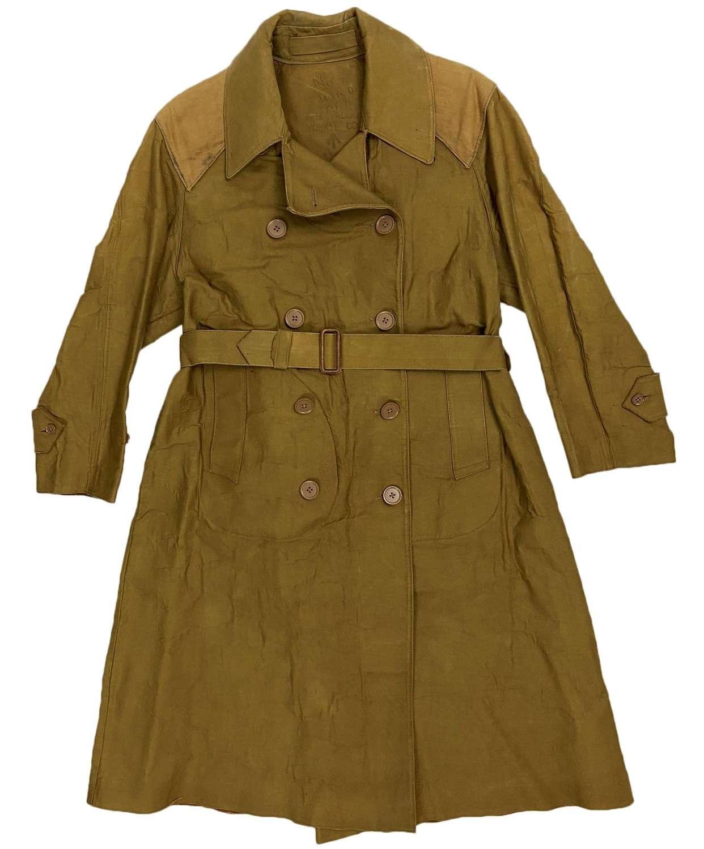 Original Women's Land Army Macintosh Raincoat - Size Small