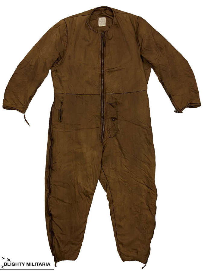Original WW2 1941 RAF Sidcot Suit Liner - Size 3