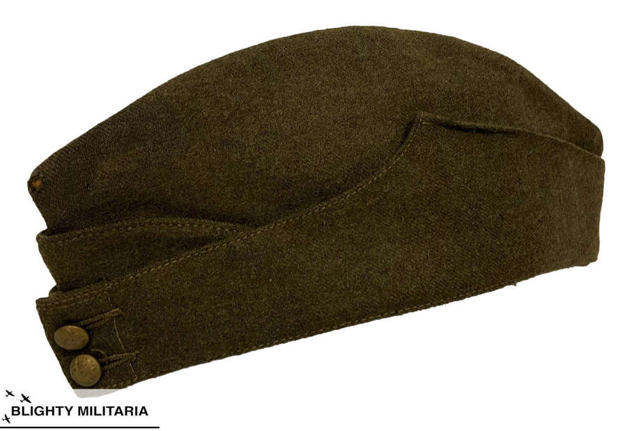 Original WW2 British Army Ordinary Ranks Forage Cap