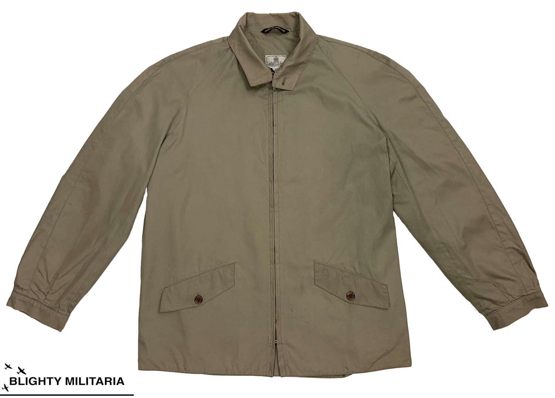 Original 1980s Men's Coat by 'Grenfell' - Size 40
