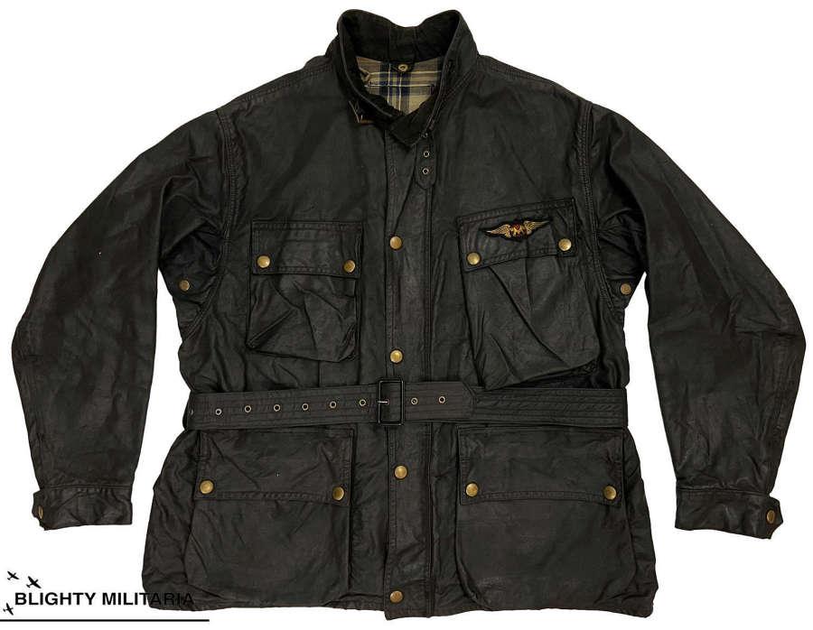 Original 1950s Belstaff Trailmaster  Motorcycle Jacket - Size 42