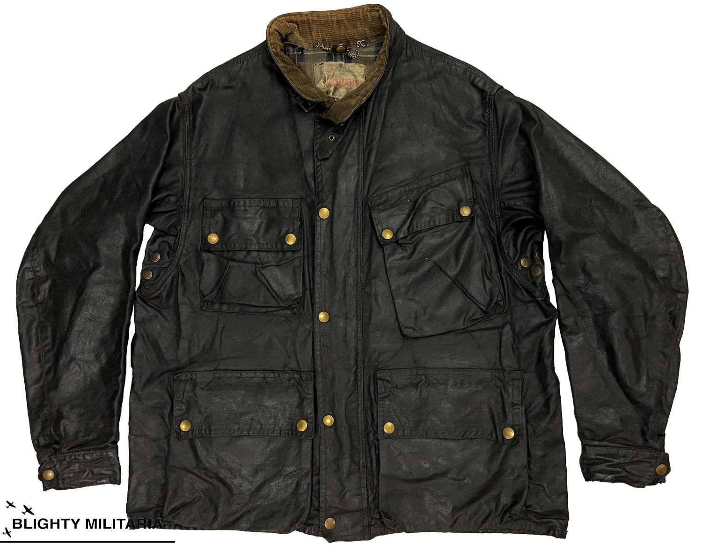 Original 1950s Belstaff Trailmaster Motorcycle Jacket - Size 44