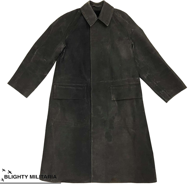 Original 1950s British Macintosh Raincoat by 'Greengate'