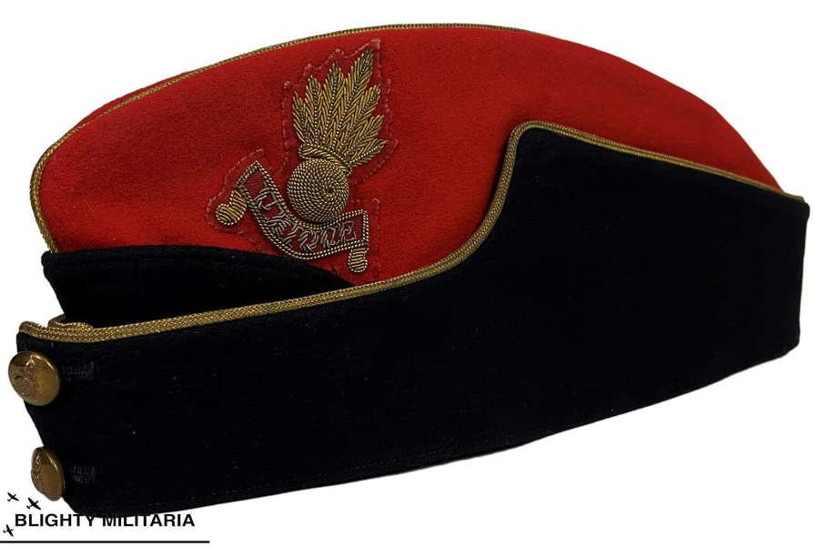 Original WW2 Royal Artillery Officer's Coloured Field Service Cap