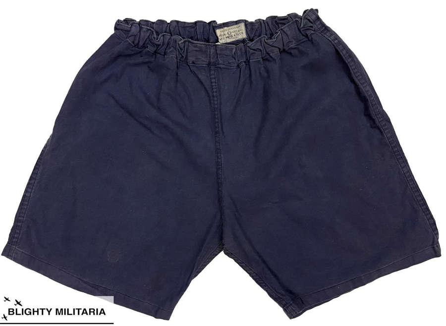 Original 1942 Dated British Physical Training Shorts