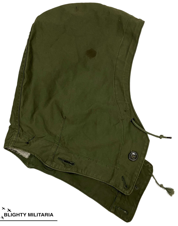 Original US Army M1943 Combat Jacket Hood