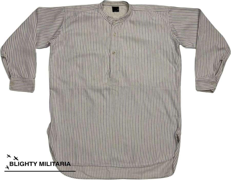 Original 1950s Men's Wool Collarless Shirt by 'Somax'