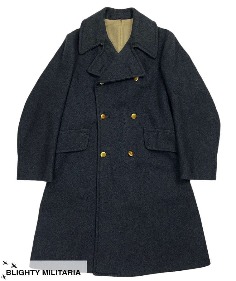 Original 1943 Dated RAF Ordinary Airman's Greatcoat - Size 4
