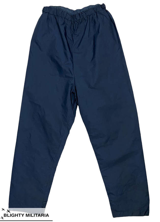 Original 1970s Royal Navy MK2 Foul Weather Trousers by 'Belstaff'