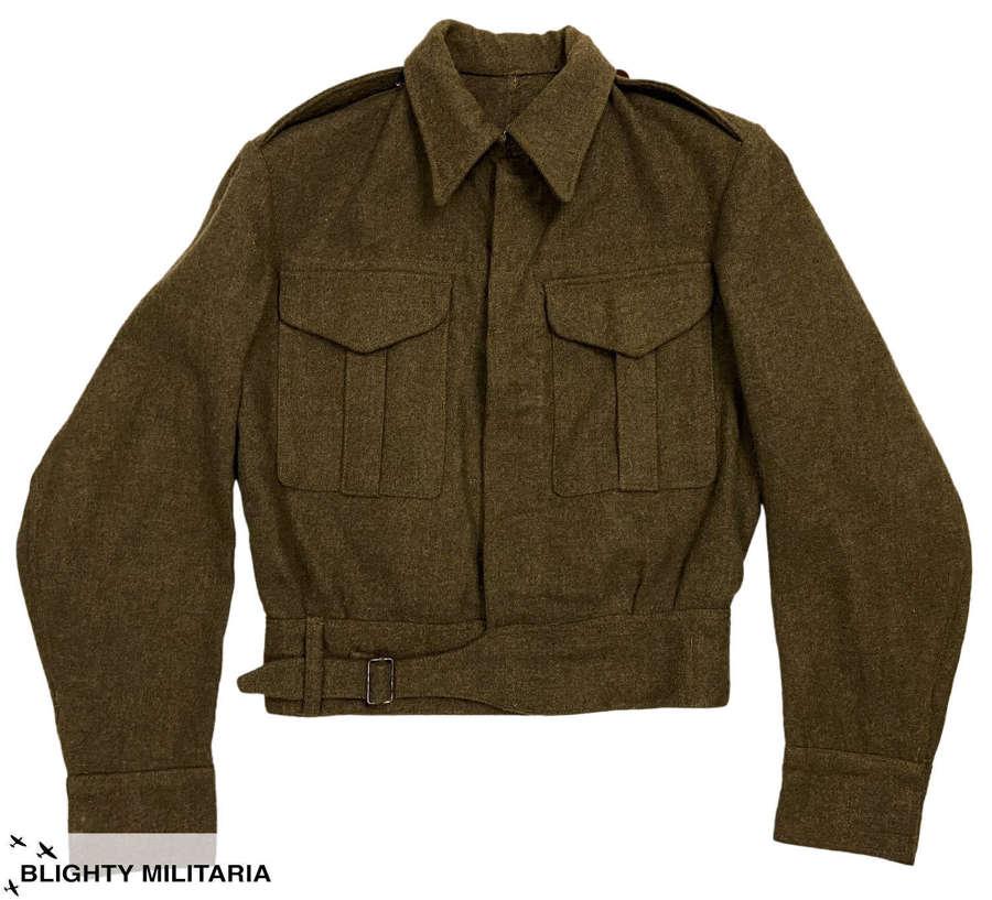 Original WW2 British Army Battledress Blouse - Size 13
